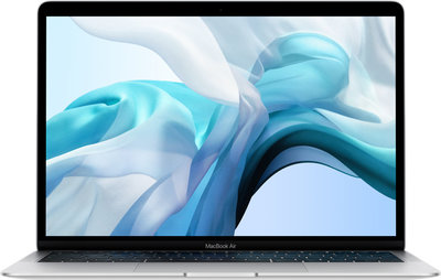 "Macbook Air 13"" Silver 2018, I5, 8.Gb, 128.Gb SSD, 10.15, Nieuw !!"