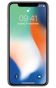 Apple iPhone X, 64 Gb Refurbished Silver/Wit