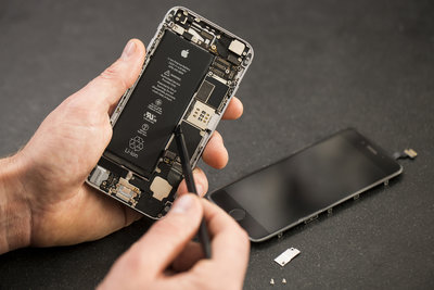 Iphone 5S reparatie, Accu vervangen