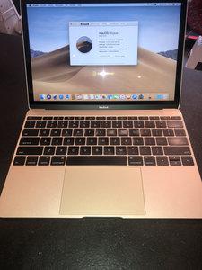 "Macbook 12"" Gold 2015, 8 Gb ,256 Gb SSD,OSX 10.14 Refurbished"