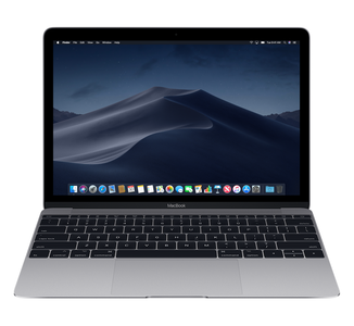 "Macbook 12"" Space Gray 2015, 8 Gb ,256 Gb SSD,OSX 10.14 Refurbished"
